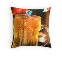 COOL BEER Throw Pillow