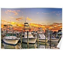 Destin Harbor Poster