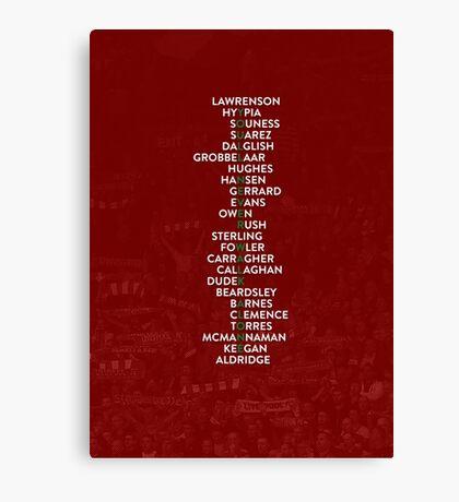 Liverpool FC - You'll Never Walk Alone Canvas Print
