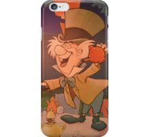 Disney Alice In Wonderland Mad Hatter March Hare  iPhone Case/Skin