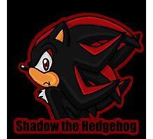 Shadow the Hedgehog -bust- Photographic Print