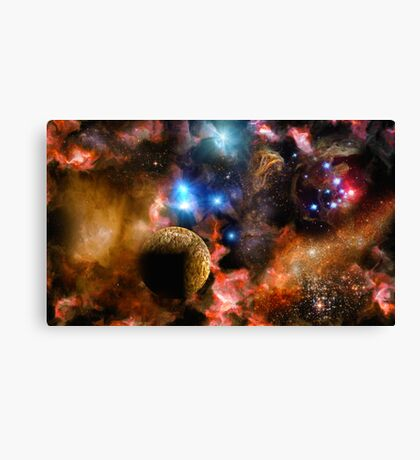 Altar of the Gods Canvas Print