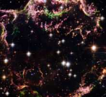 Hubble Space Telescope Print 0008 - Supernova Remnant Cassiopeia A - March 2004  - hs-2006-30-b-full_jpg Sticker