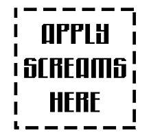 Apply Screams Here by Noah Kantor