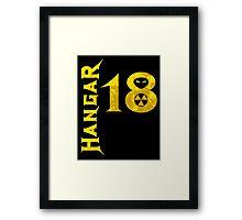 Hangar 18 Framed Print