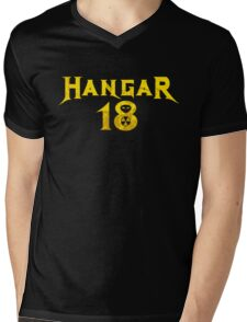 Hangar 18 Mens V-Neck T-Shirt