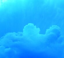 Clouds in Blue by Marcia Plante