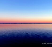 Horizon | Moriches Bay, New York  by © Sophie W. Smith