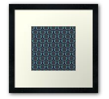 Fancy Fish Scales  Framed Print