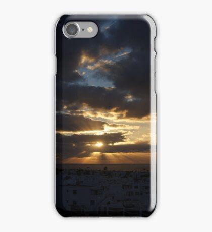 Puerto Del Carmen Sun Rays iPhone Case/Skin