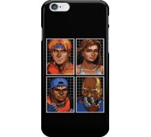 Streets of Rage 3 – Character Bio Pictures iPhone Case/Skin