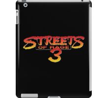 Streets of Rage 3 – Title Screen iPad Case/Skin