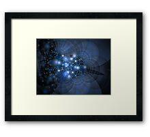Galaxies Unseen Framed Print