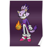 Blaze the Cat Poster