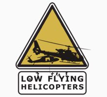 Low Flying Helicopters (2) by artguy24