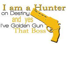 Golden Gun that Boss by nakeciawinona
