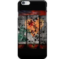 Valentine's Day outside the wire. iPhone Case/Skin
