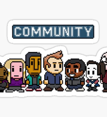 Community - 8Bit Sticker