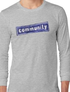 Community Logo Long Sleeve T-Shirt