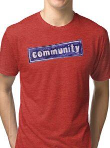 Community Logo Tri-blend T-Shirt