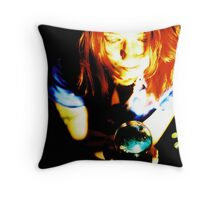 Fortuna - Kitty Serendipity series Throw Pillow