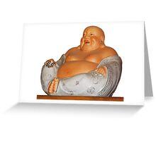 Laughing Buddha Greeting Card