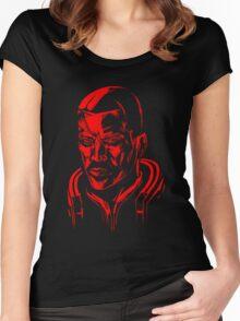 Shepard - Mass Effect Women's Fitted Scoop T-Shirt