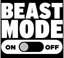 Beast Mode On Photographic Print