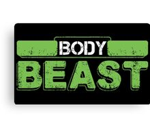 Body Beast Canvas Print