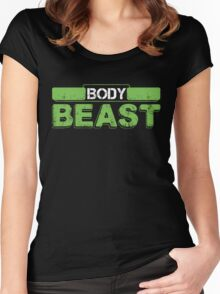 Body Beast Women's Fitted Scoop T-Shirt