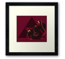 Toon Ganondorf - Sunset Shores Framed Print