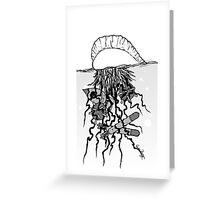 Man O' Warhead Greeting Card