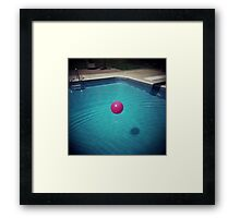 Shadows and Ripples Framed Print