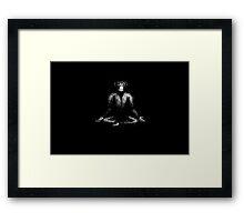 choga tee Framed Print