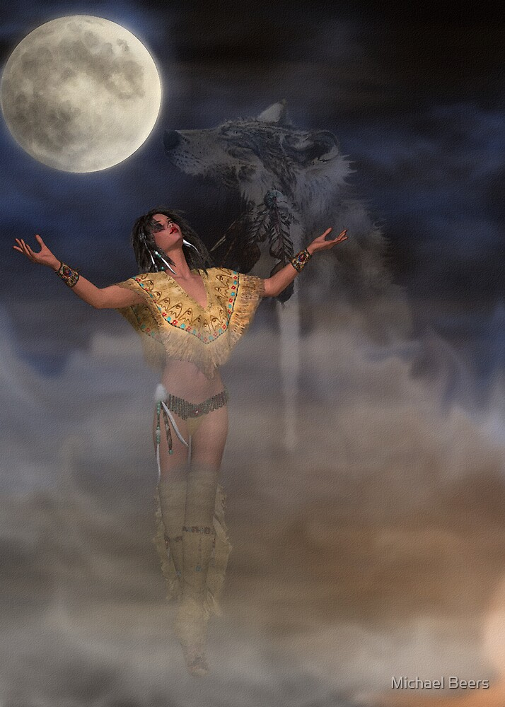 I GIVE THANKS TO MY SPIRIT GUIDE by Michael Beers