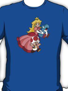 """Super Princess Peach's Yoshi Rescue!"" T-Shirt"