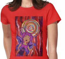 Aubrey Agaricwitch Fairy Womens Fitted T-Shirt
