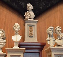 Disney Haunted Mansion Busts Disney Singing Busts by notheothereye