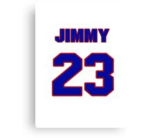 National baseball player Jimmy Pofahl jersey 23 Canvas Print