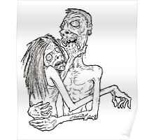 Zombies in Love Poster