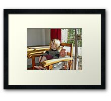 """Me and My Doll"" #3 Framed Print"
