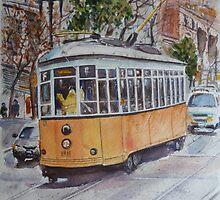 SF Historic Streetcars by jadlart
