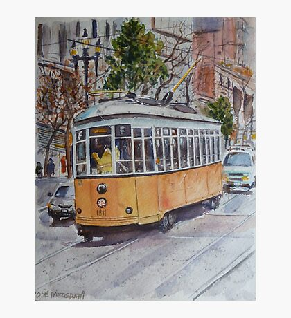 SF Historic Streetcars Photographic Print