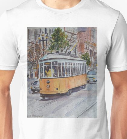 SF Historic Streetcars Unisex T-Shirt