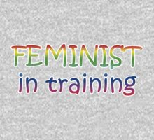 Feminist in Training! Baby Tee