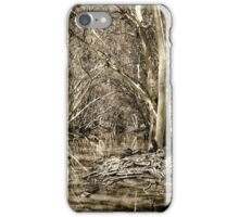 Australian river Ghost Gums iPhone Case/Skin