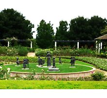 Grandmothers Garden - Hunter Valley Gardens Photographic Print