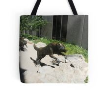 Wolf  sculptures Tote Bag