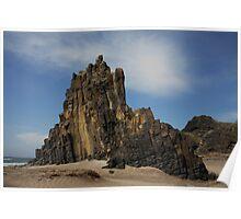 rocks in Cabo de gata national park Poster