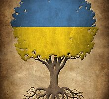 Tree of Life with Ukrainian Flag by Jeff Bartels